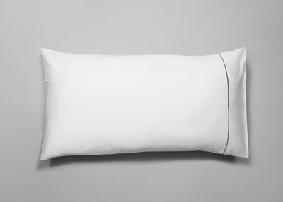 Sateen signature embroidery pillowcase 50x90