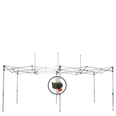 10x20ft Aluminum Canopy (Frame Only)
