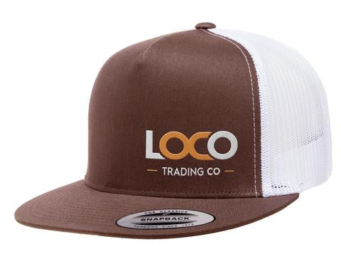 CLASSIC TRUCKER 2-TONE HAT BROWN