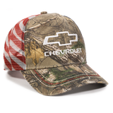 CHEVROLET USA REALTREE EDGETM CAMO SNAPBACK HAT