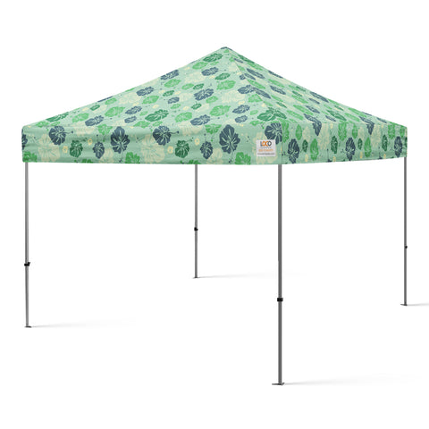 10x10_hibiscus_flower_canopy_green