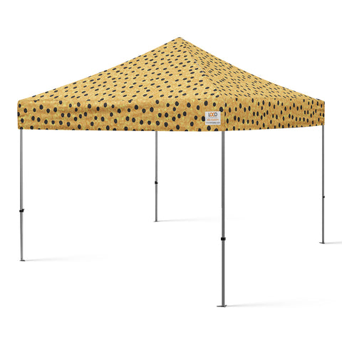 10x10_dots_canopy_gold_black