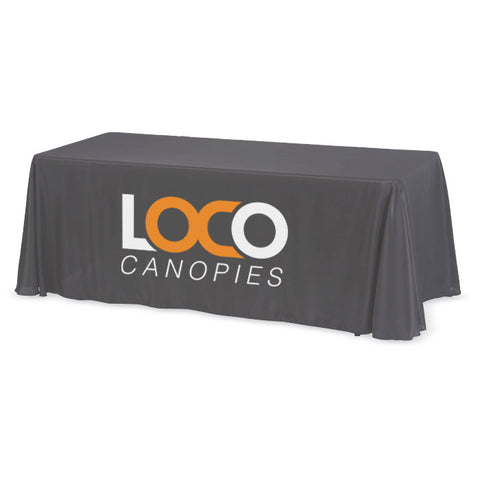Throw Table Cloth (4-Sided Seamless)
