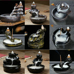 Backflow Incense Burner Use In The Home, Office, or Teahouse