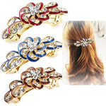 Beautiful Fashion Flower Crystal Rhinestone Hair Clip