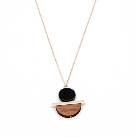 GEOMETRIC BALANCE NECKLACE