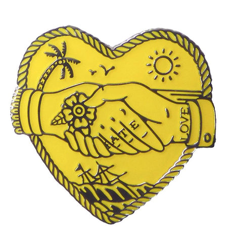 LOVE HATE PIN