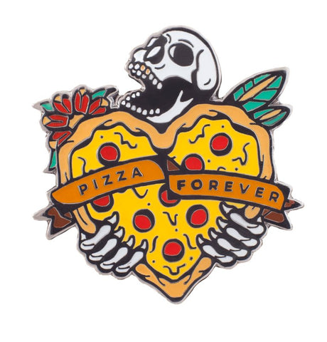 Pizza Forever Pin