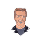 HAPPY TERMINATOR PIN