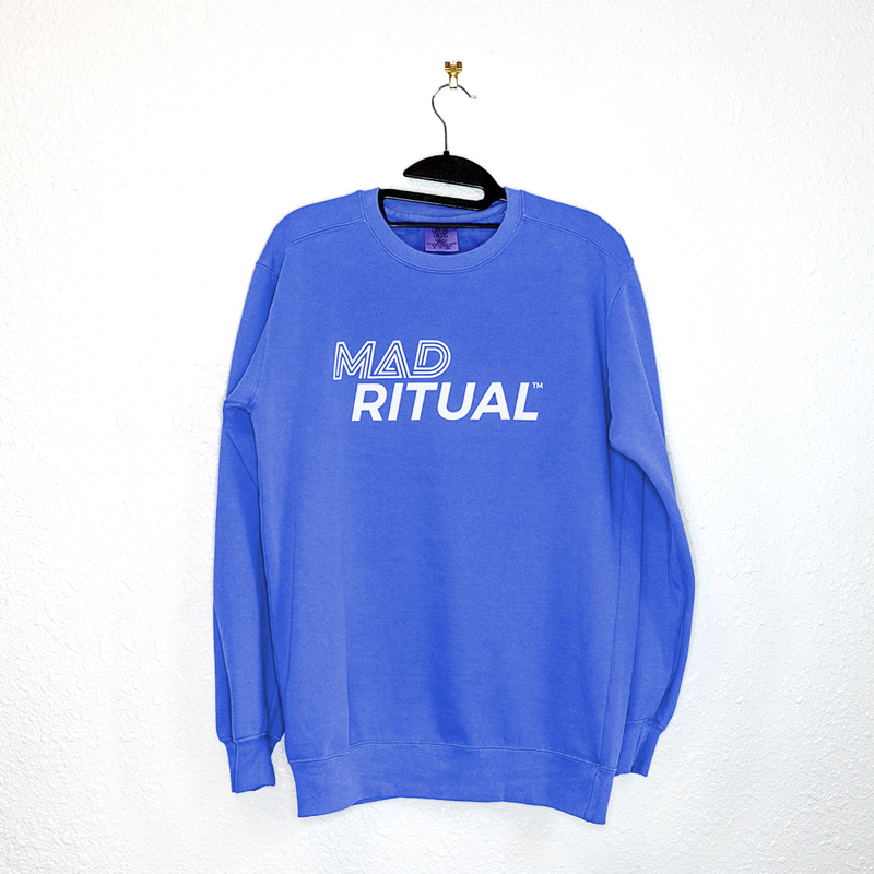 Mad Ritual Blue Crewneck