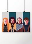[poster] Família Stark - Game of Thrones