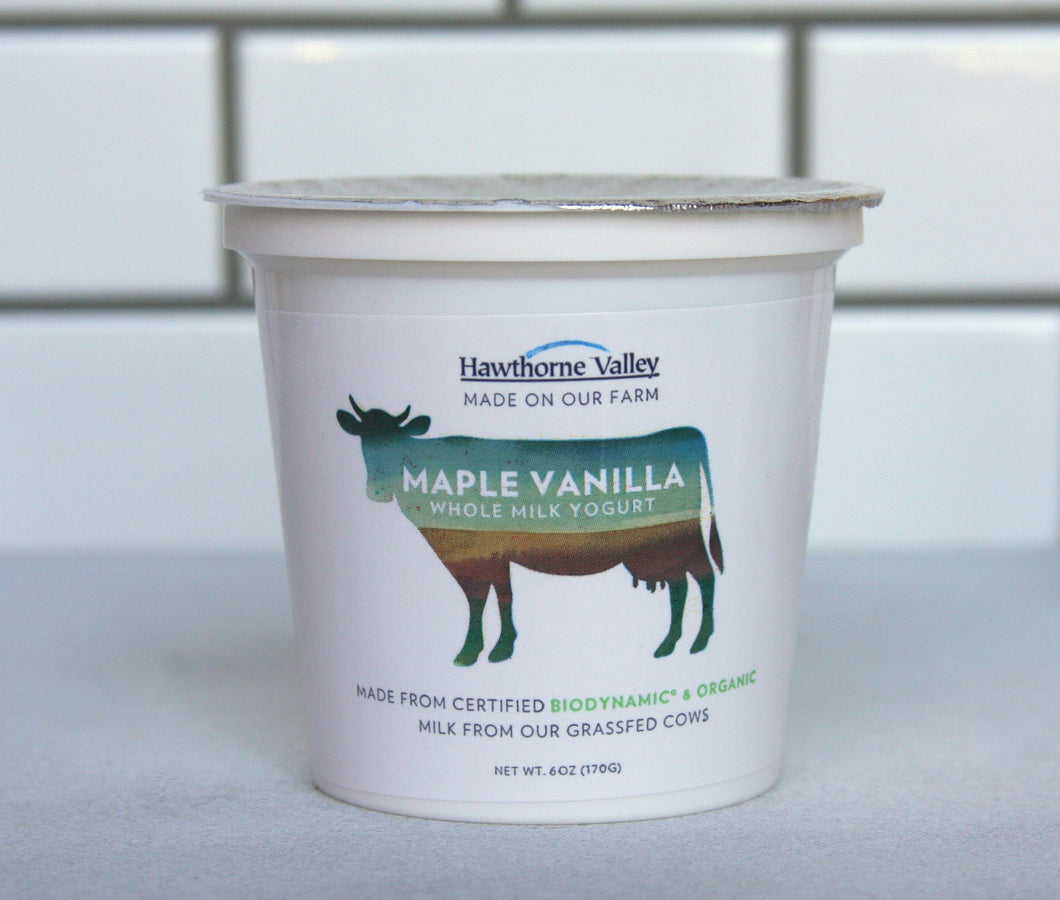 R - Maple Vanilla Yogurt - 1 quart