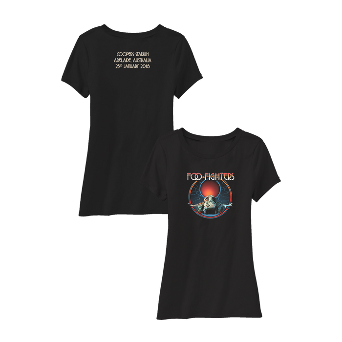 ADELAIDE WOMENS EVENT TEE - Foo Fighters Australia