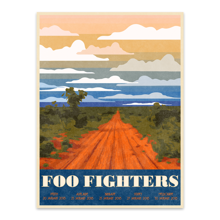 FF TOUR POSTER - Foo Fighters Australia