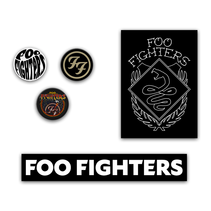 BUTTON STICKER PACK - Foo Fighters Australia