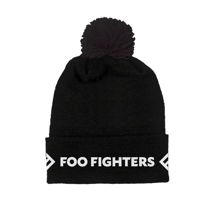 BLACK FOLDOVER BEANIE - Foo Fighters Australia