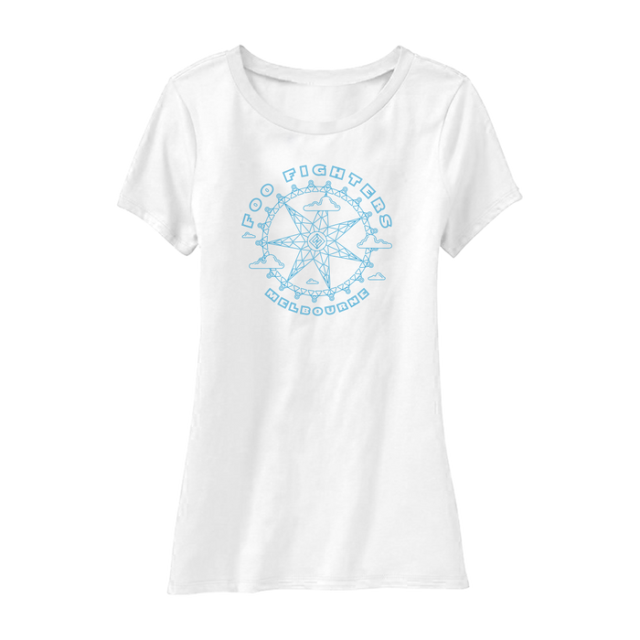 MELBOURNE STAR WOMEN'S TEE - Foo Fighters Australia