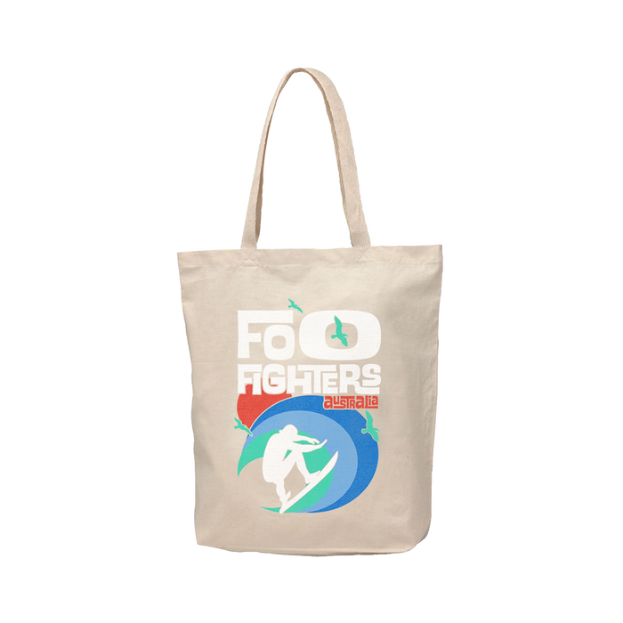 SURFS UP TOTE BAG - Foo Fighters Australia