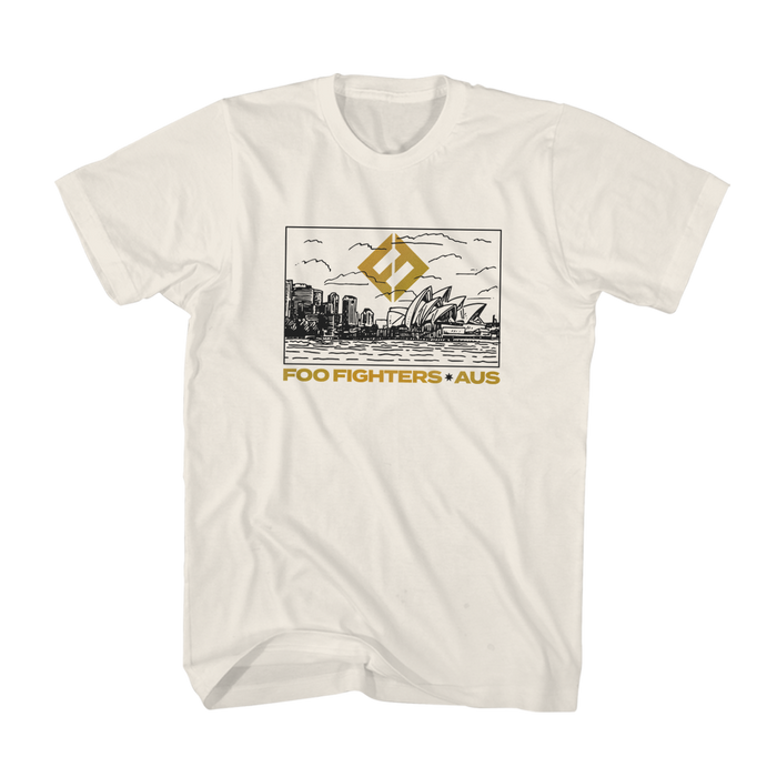 SYDNEY SKYLINE TEE - Foo Fighters Australia