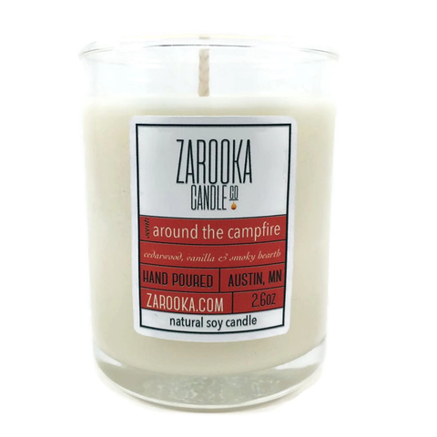 Around the Campfire Mini Candle