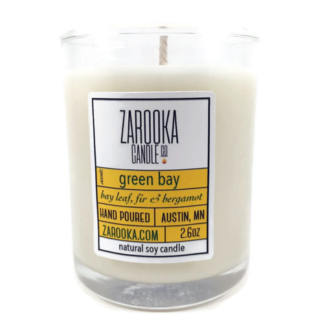 Green Bay Soy Mini Candle