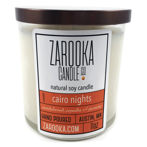 Cairo Nights Soy Candle