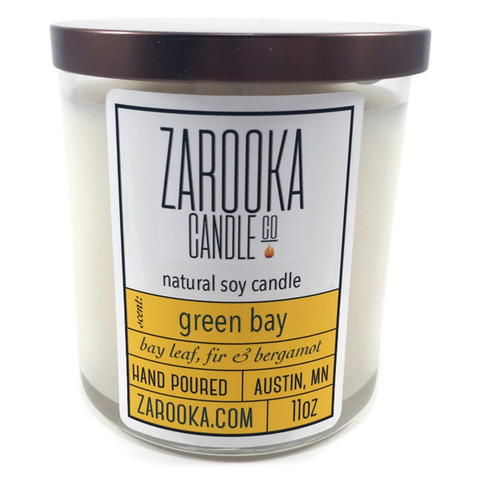 Green Bay Soy Candle