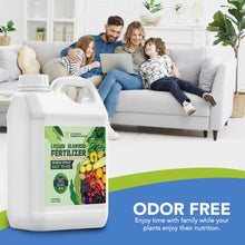 Load image into Gallery viewer, Eco Home & Garden Indoor Plant Fertilizer | Organic Indoor Plant Food Made from Liquid Kelp Seaweed Extract | Great Vegetable Liquid Fertilizer & House Plant Fertilizer Indoor