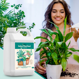 Eco Home & Garden All Purpose Liquid Indoor Plant Food - Works As Orchid Fertilizer | Fiddle Leaf Fig Plant Food | Bonsai Fertilizer | Succulent Fertilizer