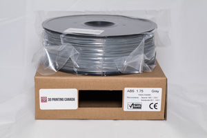 Grey - 1.75mm ABS Filament - 1 kg