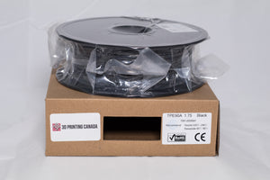 Black - 1.75mm TPE85A Filament - 0.5 kg