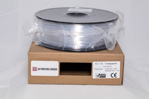 Transparent / Natural - 1.75mm PC+ Filament - 1 kg