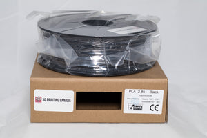 Black - 2.85mm PLA Filament - 1 kg