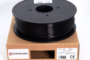 Black - 2.85mm PC+ Filament - 1 kg