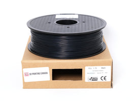 Black - 1.75mm PCL Filament - 1 kg