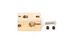 V6 E3D Clone Brass Heater Block
