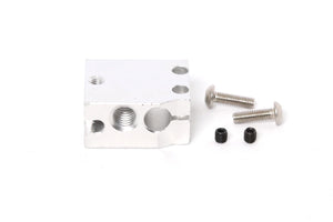 E3D Volcano Aluminum Heater Block for PT100 sensor