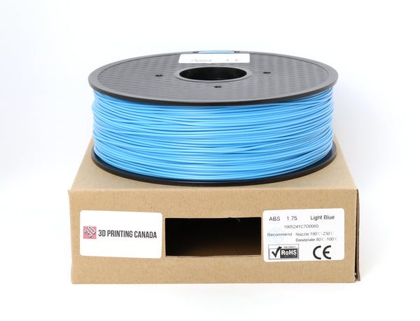Light Blue - 1.75mm ABS Filament - 1 kg