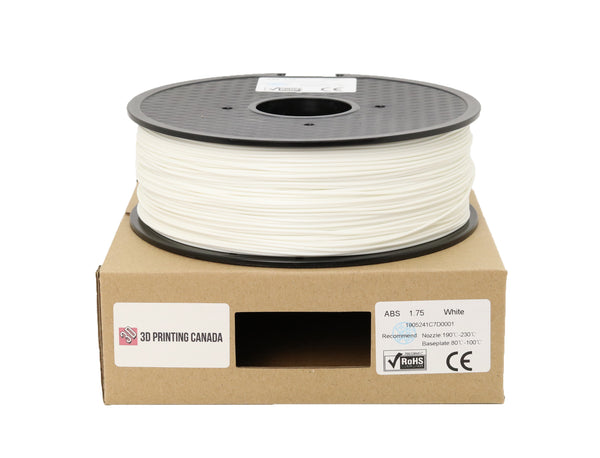 White - 1.75mm ABS Filament - 1 kg