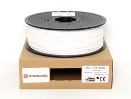 White - 1.75mm PC+ Filament - 1 kg