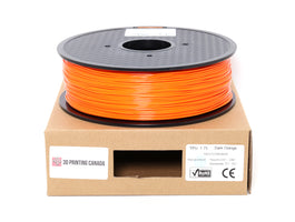 Dark Orange - 1.75mm TPU Filament - 1 kg