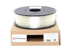 Transparent - 1.75mm TPU Filament - 1 kg