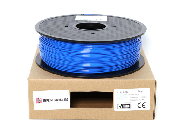 Blue - 1.75mm Standard PLA Filament - 1 kg