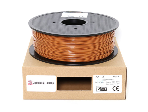 Brown - 1.75mm Standard PLA Filament - 1 kg