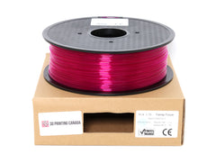 Transparent Purple - 1.75mm Standard PLA Filament - 1 kg