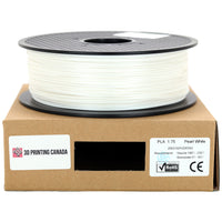 Pearl White - 1.75mm Standard PLA Filament - 1 kg