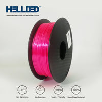 Youth Red - 1.75mm Hello 3D Silk PLA Filament - 1 kg