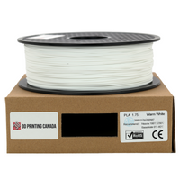 Warm White - 1.75mm Standard PLA Filament - 1 kg