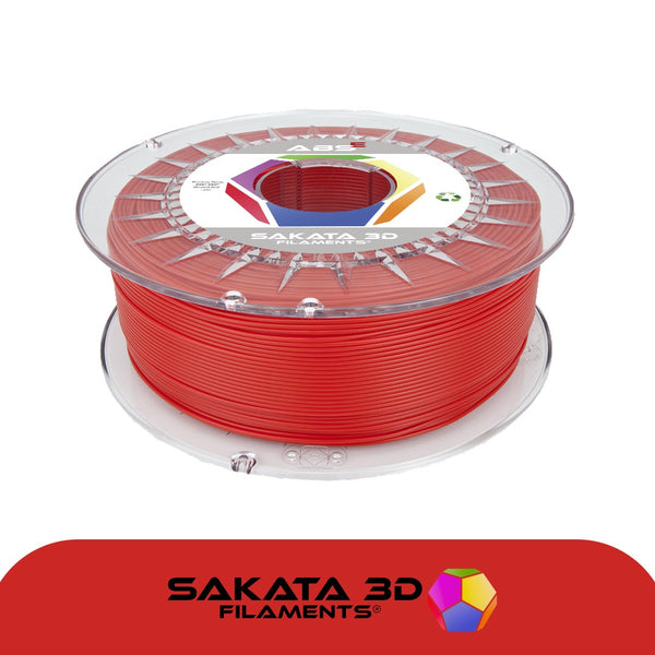 Red - 1.75mm Sakata ABS-E Filament - 1 kg