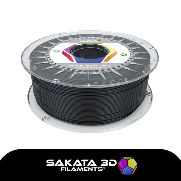 Black  - 1.75mm Sakata ABS-E Filament - 1 kg